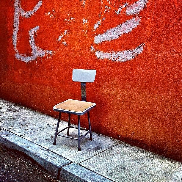 Empty Chair Photograph - Empty Chair by Julie Gebhardt