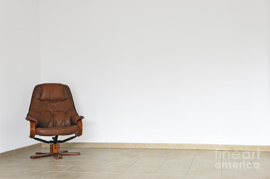 Failure Photograph   Empty Office Chair In Empty Room By Sami Sarkis