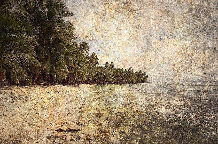 Art Photograph - Empty Tropical Beach 2 by Skip Nall