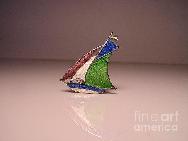 Ships Jewelry - Enamels 25a by Dwight Goss