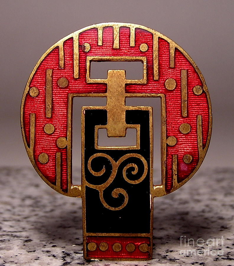 Art Deco Jewelry - Enamels 50 by Dwight Goss