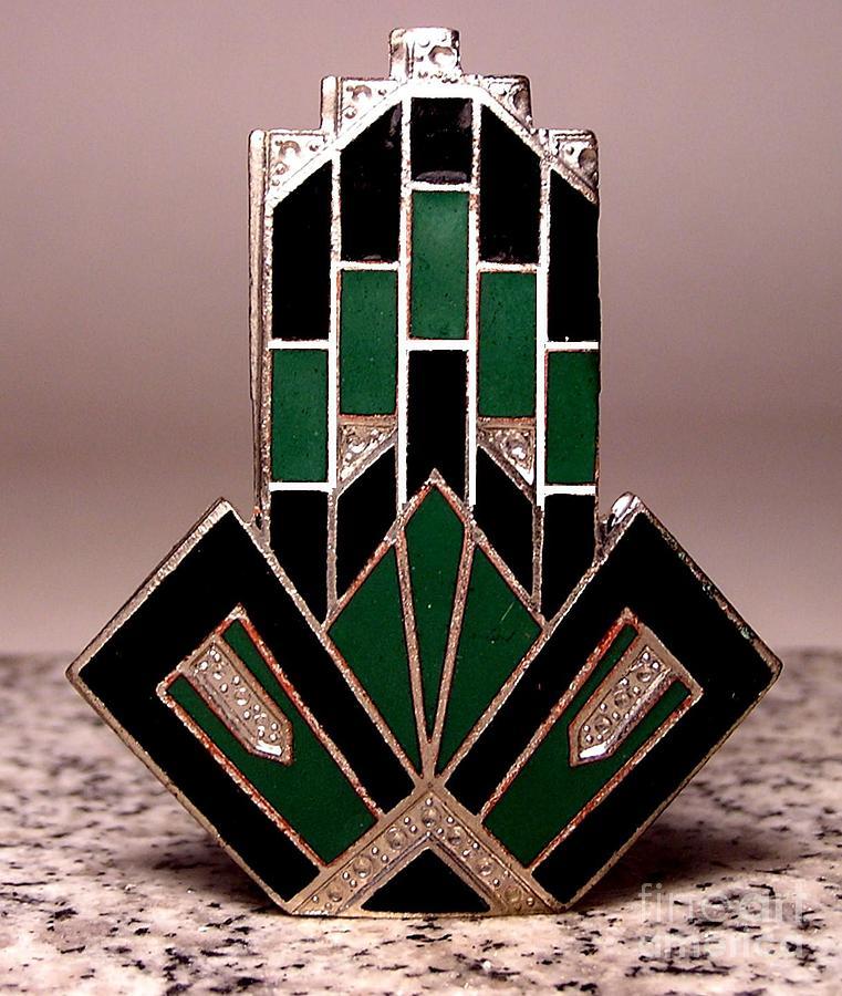 Art Deco Jewelry - Enamels 53 by Dwight Goss