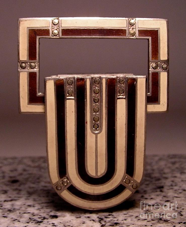Art Deco Jewelry - Enamels 54 by Dwight Goss