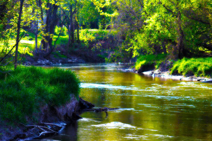 Enchanted Photograph - Enchanted River by Rebecca Frank