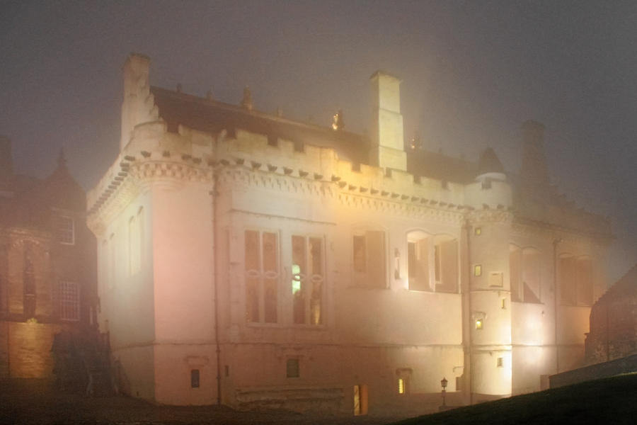 Enchanting Photograph - Enchanted Stirling Castle Scotland  by Christine Till