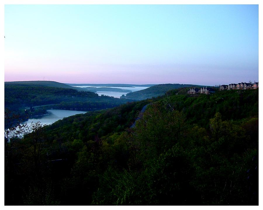 Deep Creek Photograph - End Of A Perfect Day At Deep Creek by Frank Wickham