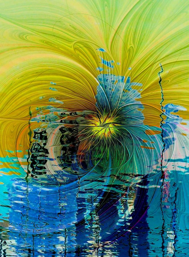 Abstract Digital Art - End Of Days by Amanda Moore