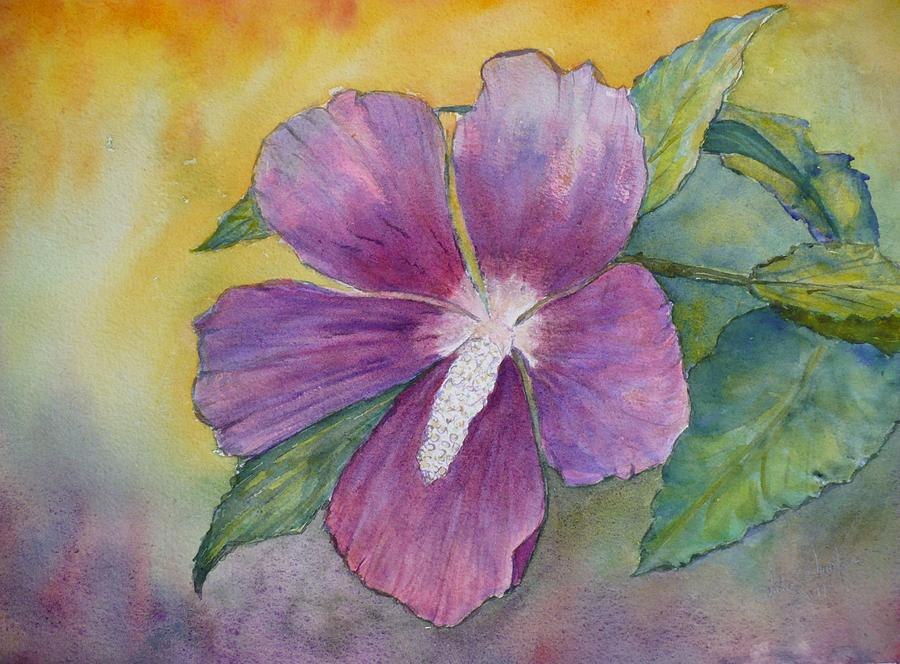 Althea Painting - End Of Summer by Stella Schaefer