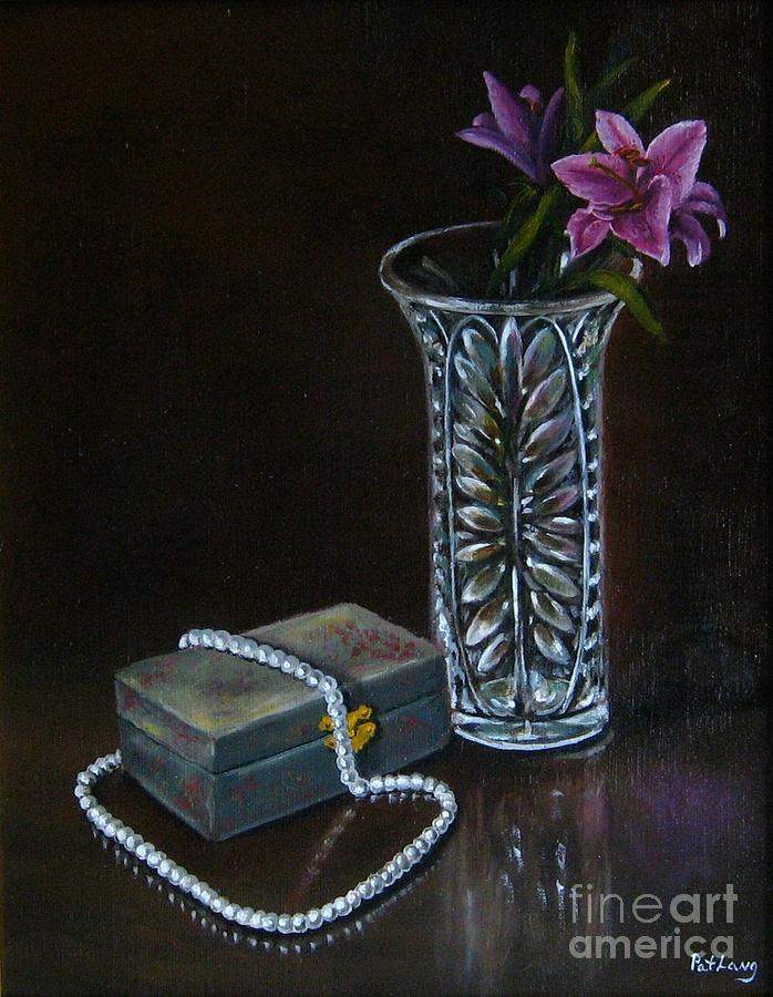 Lily Painting - End of the Night by Patricia Lang