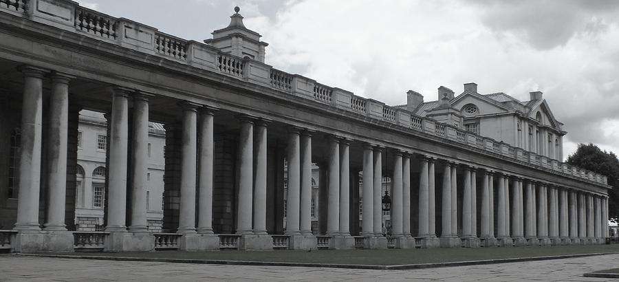 Columns Photograph - Endless Columns by Anna Villarreal Garbis