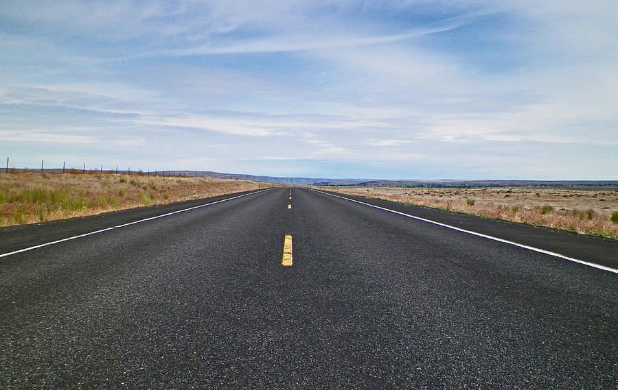 Road Photograph - Endless Journey by Seth Shotwell