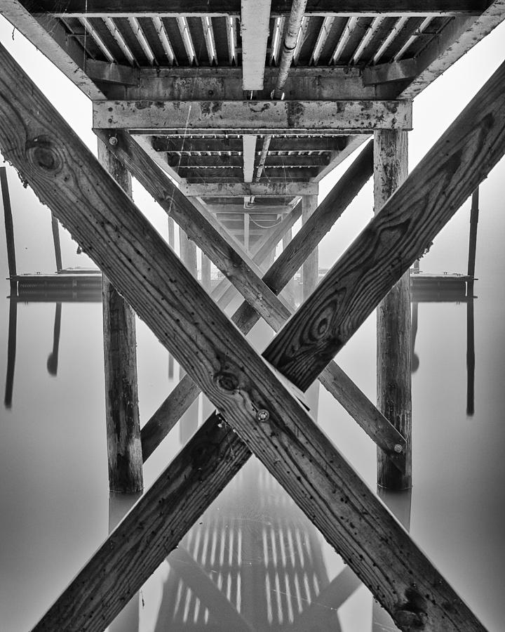 Landscapes Photograph - Endless Pier by Brian Young