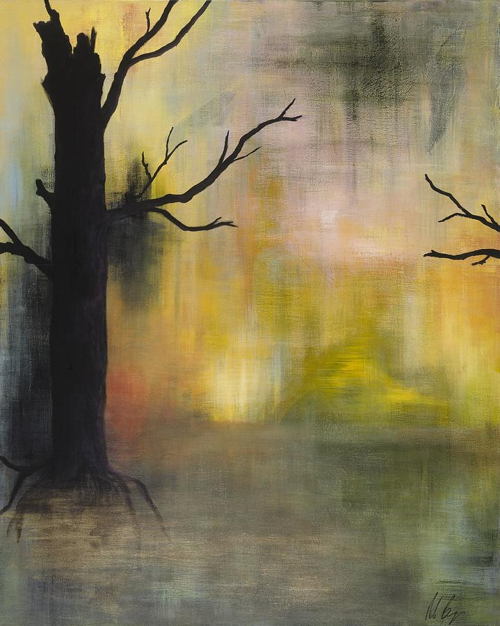 Color Painting - Endless Swamp by Nicole Williams
