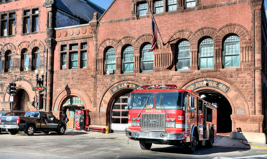 Bfd Photograph - Engine 33 by JC Findley