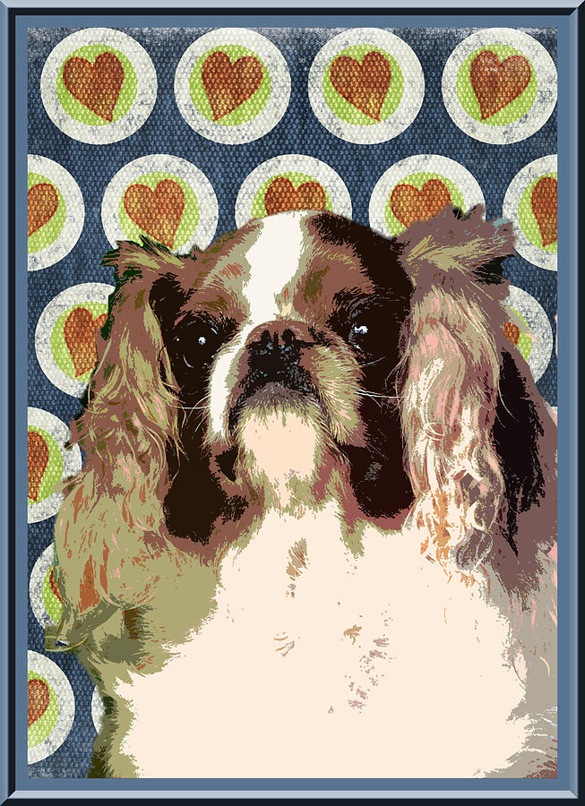 English Toy Spaniel Photograph - English Toy Spaniel by One Rude Dawg Orcutt