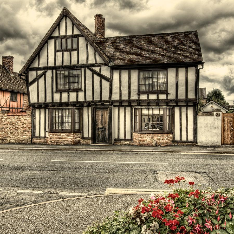 English tudor house photograph by martin bryers - What makes a house a tudor ...