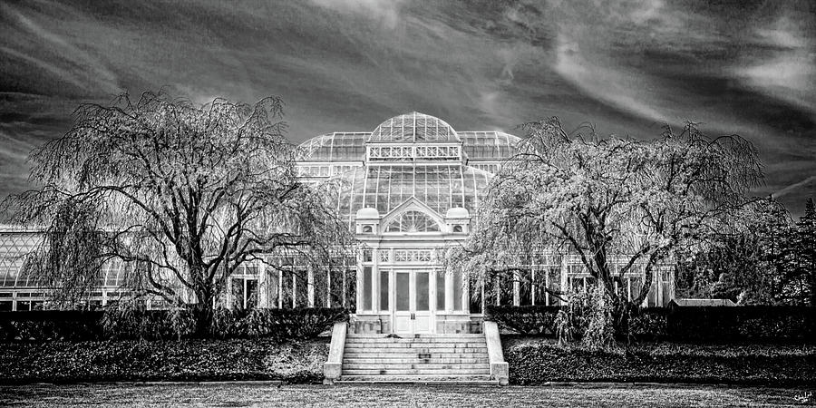 Enid A Haupt Conservatory is a photograph by Chris Lord which was ...