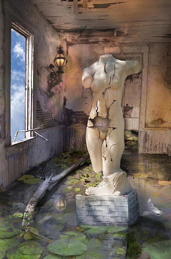 Surrealism Digital Art - Enigma Of The Vernal Muse by Carol Kiser
