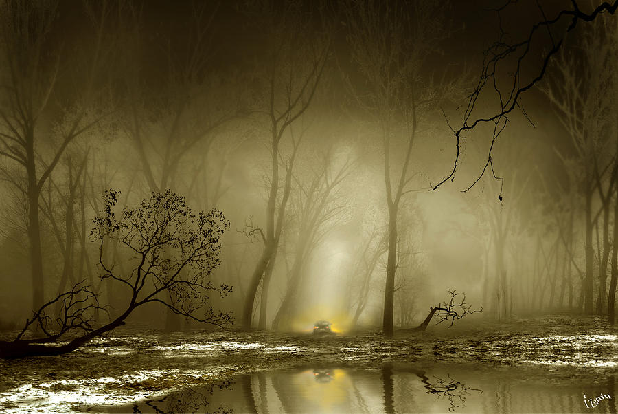 Files Digital Art - Enigmatic Passage by Igor Zenin