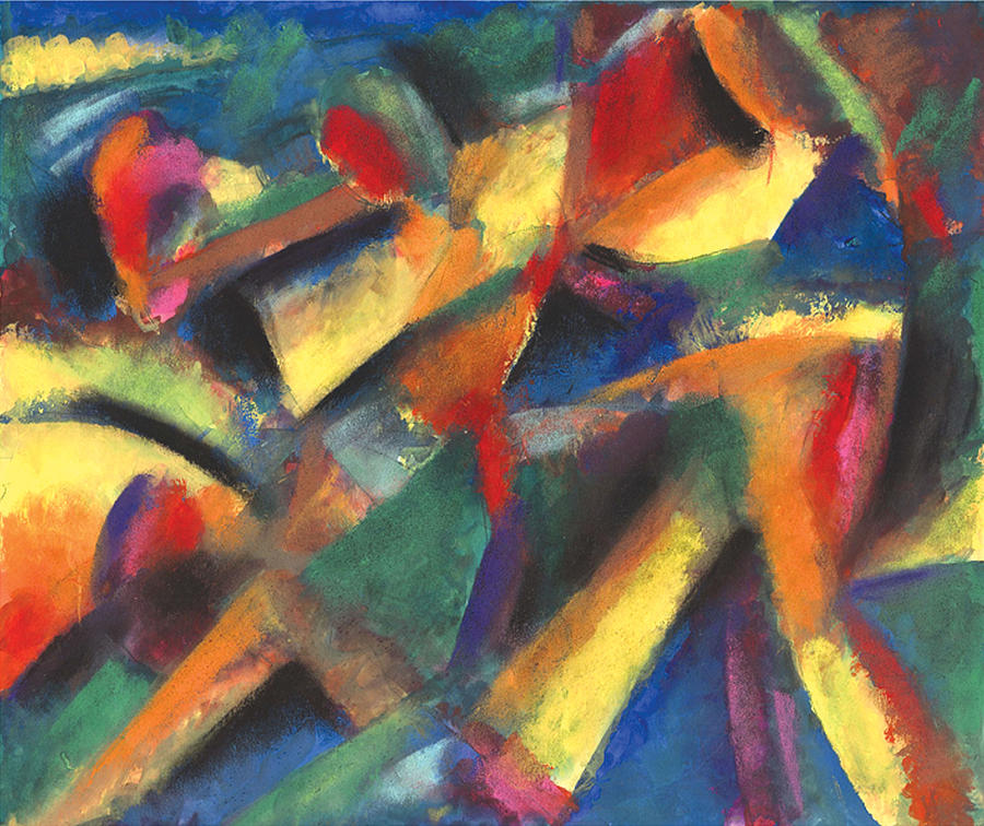Abstract Pastel - Ensename by John Crespo Estrella