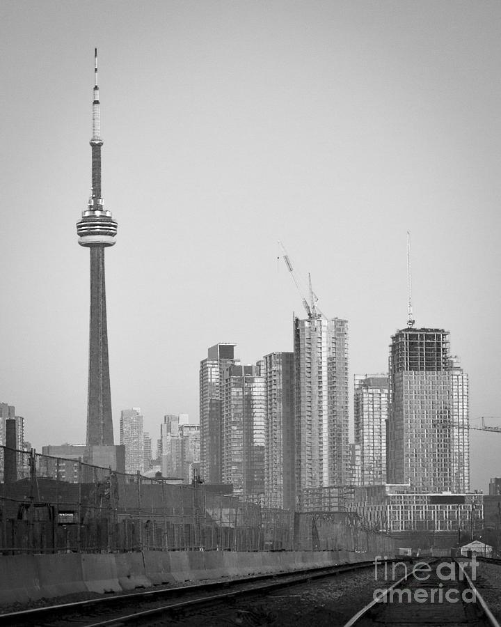 Toronto Photograph - Enter Via Rail by Milan Kalkan