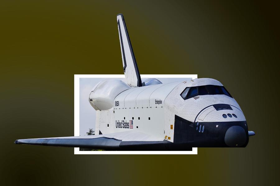 Space Photograph - Enterprise by Lawrence Ott