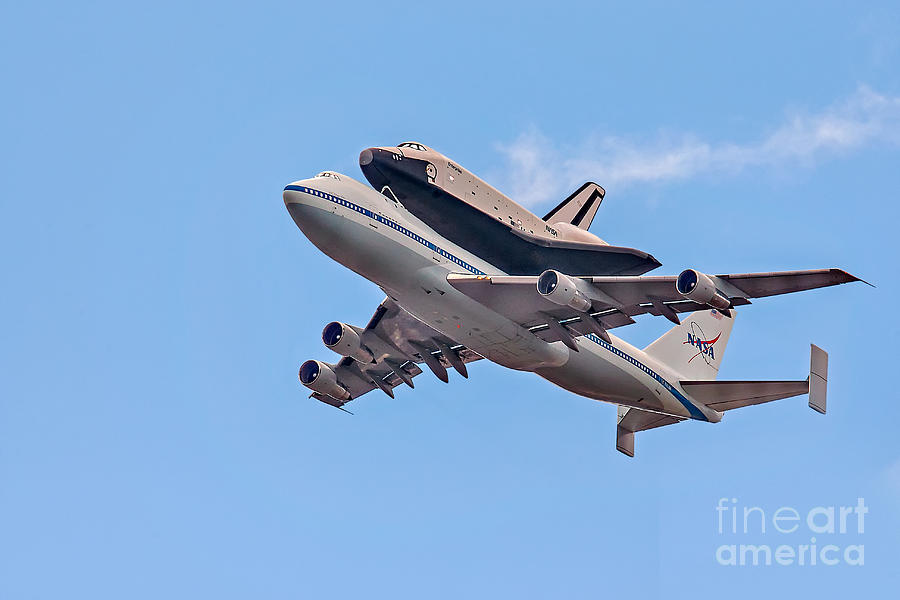 Space Shutle Enterprise Photograph - Enterprise Space Shuttle  by Susan Candelario