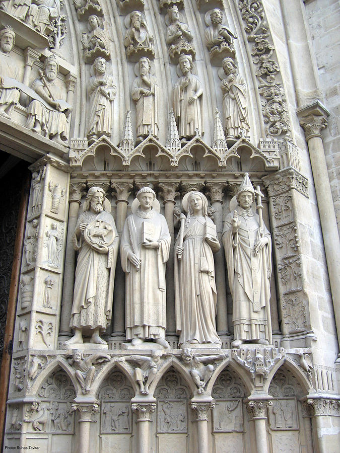 Churches Relief - Entrance - Right Side by Suhas Tavkar