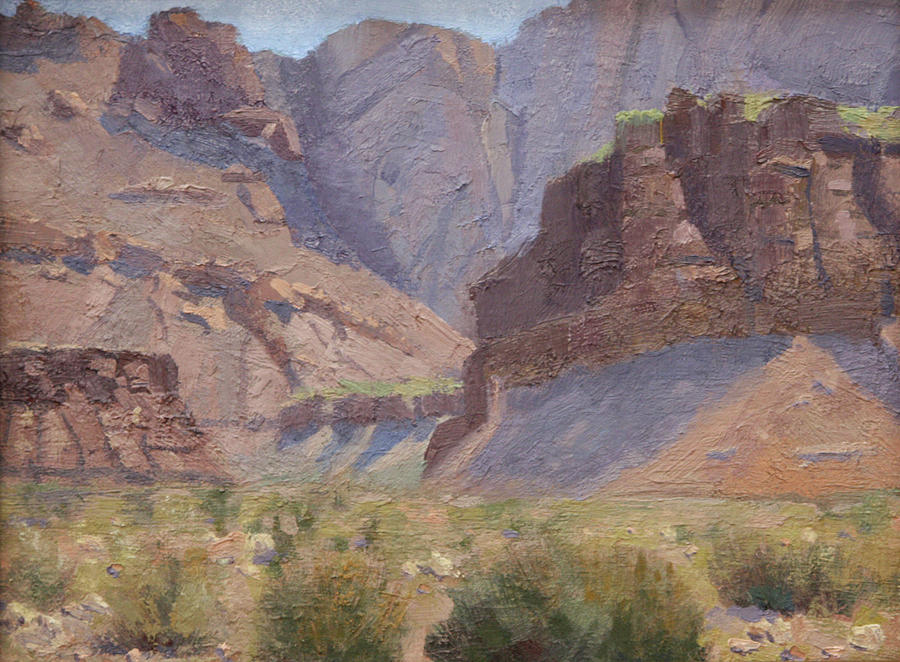 Entrance to Diablo Pass by Morris Reese