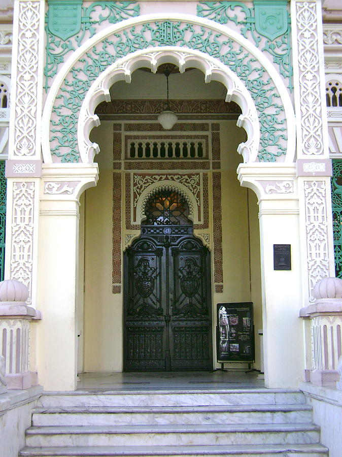 Architecture Photograph - Entrance To Palacio De Valle by Laurel Fredericks