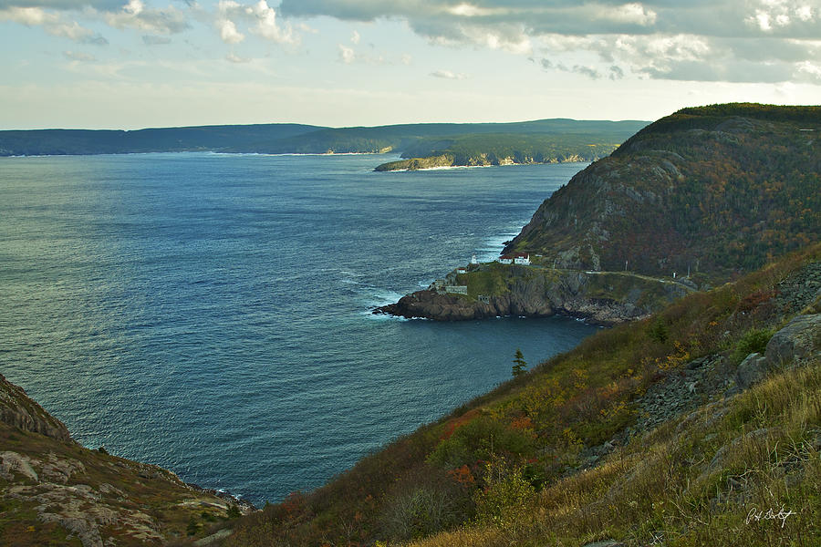Canada Photograph - Entrance To St. Johns Harbour by Phill Doherty