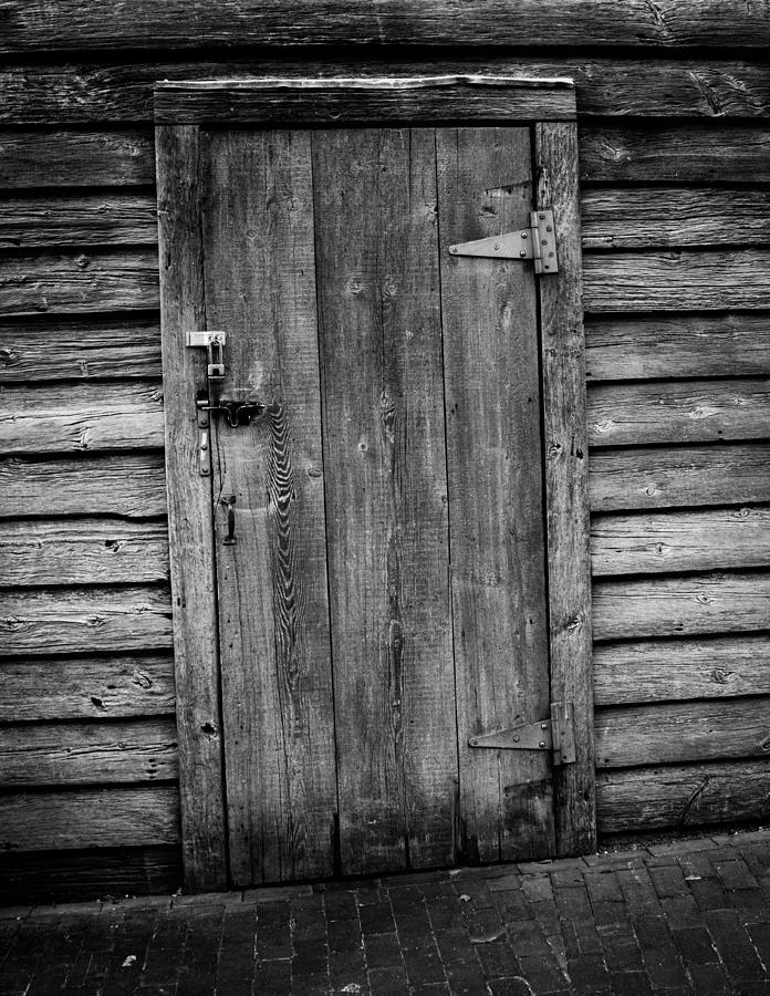 Architecture Photograph - Portrait Of Old Door by Vintage Pix