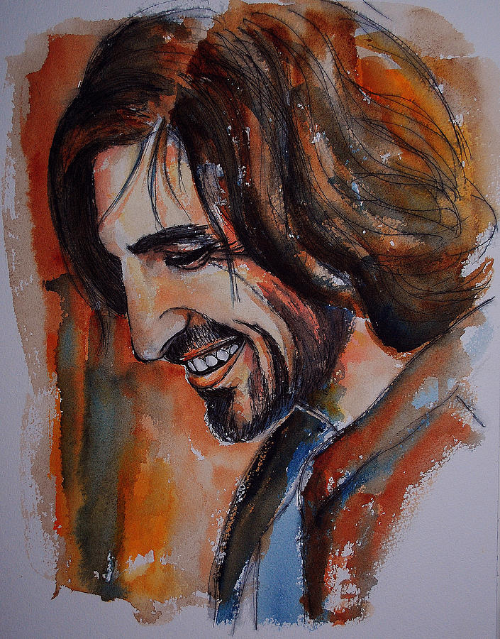 Actor Painting - Eoin Macken by Francoise Dugourd-Caput