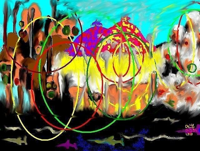 Culture Digital Art - Epiphany by Asaye Nigussie