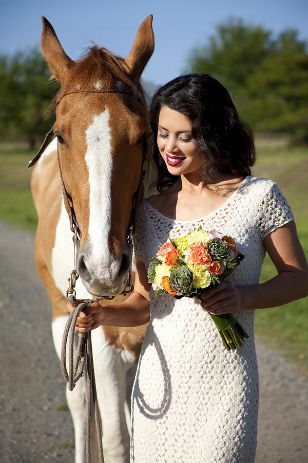 Alongside Photograph - Equine Companion by Sri Maiava Rusden