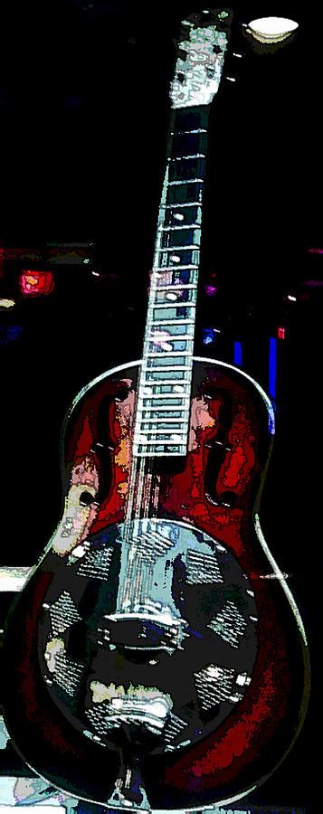 Artist Photograph - Eric Clamptons Guitar by David Alvarez