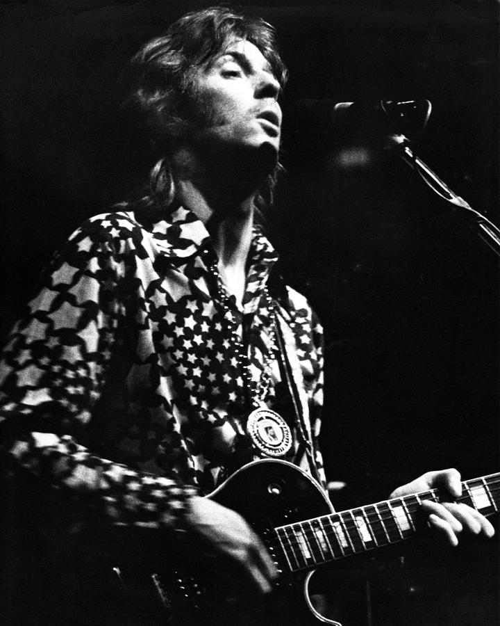 Eric Clapton 1967or 8 In Cream Photograph By Chris Walter