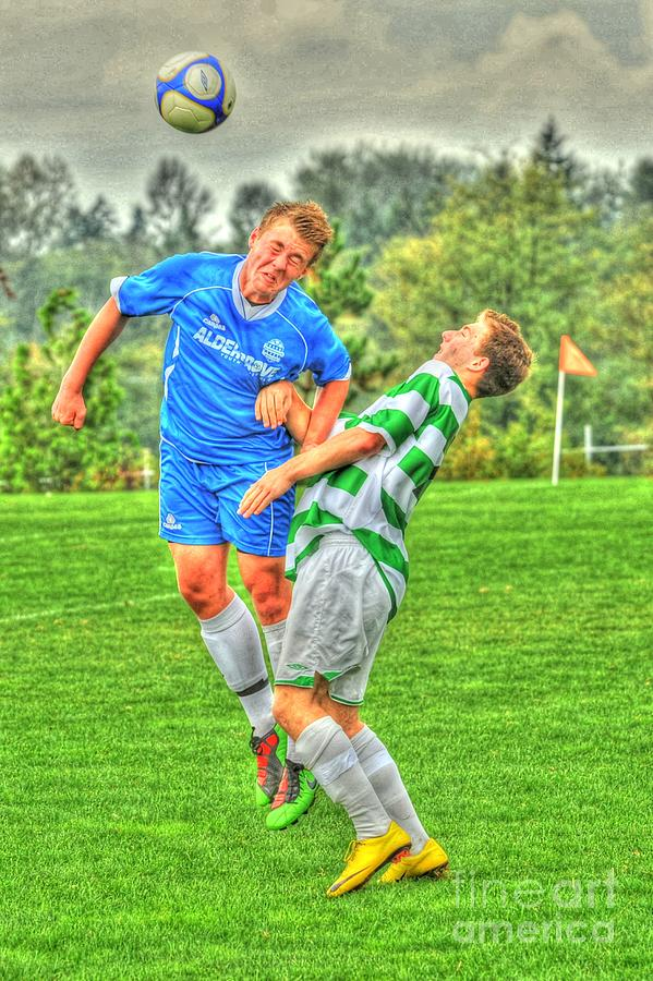 Football Photograph - Eric by Rod Wiens