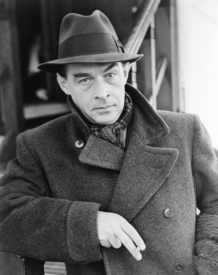 Erich Maria Remarque 1898 1970 German Photograph By Everett
