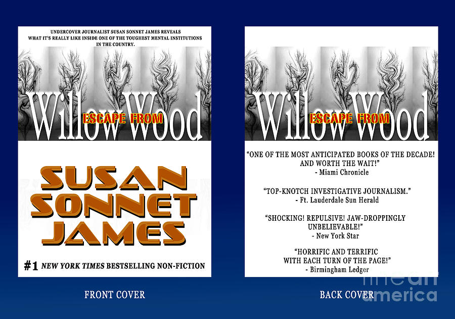 Book Cover Photograph - Escape From Willow Wood by Mike Nellums