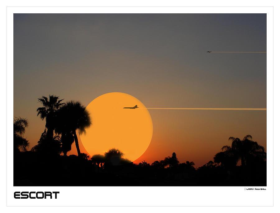 Escort Photograph - Escort by Larry Mulvehill