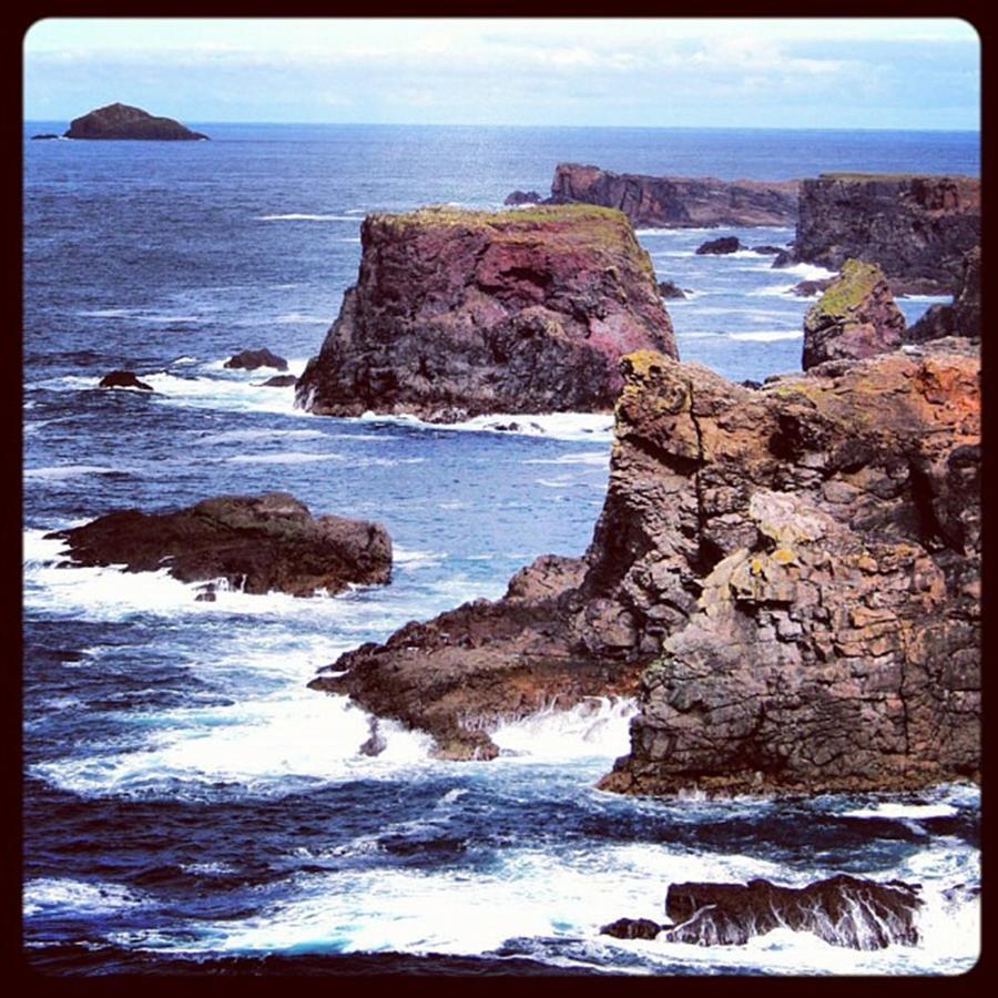 Scotland Photograph - Eshaness - Shetland Islands by Luisa Azzolini