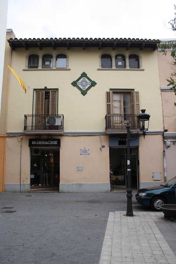Esparraguera Modernist House In Catalunya Photograph by Antonio Mora Verges