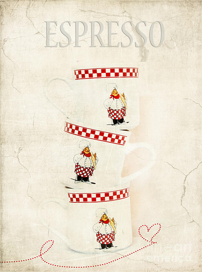 Aroma Photograph - Espresso by Darren Fisher