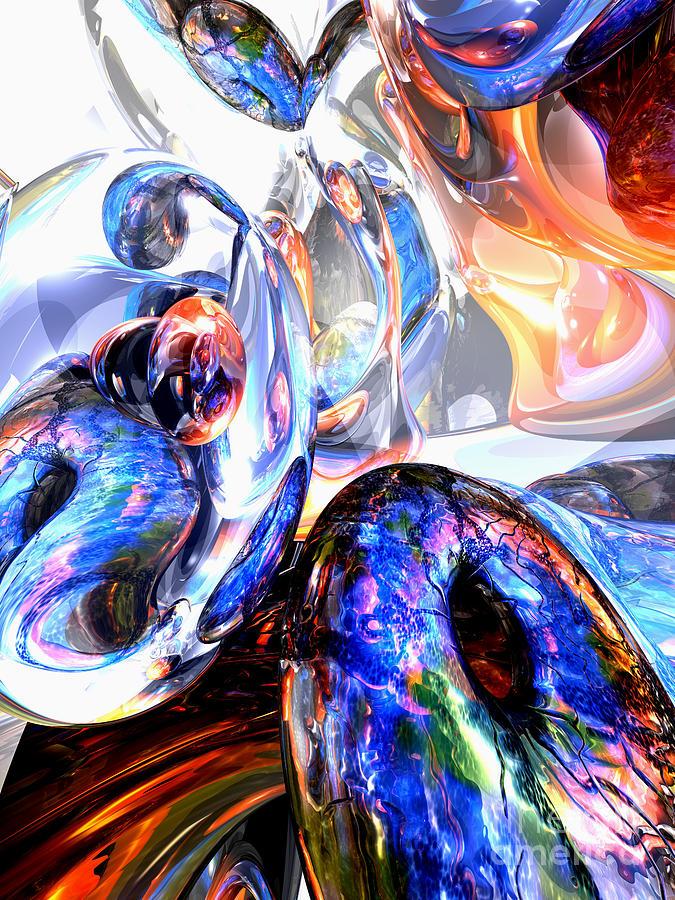 3d Digital Art - Essence Of Inspiration Abstract by Alexander Butler
