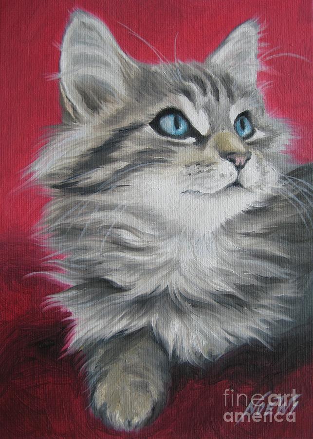 Noewi Painting - Estrella by Jindra Noewi