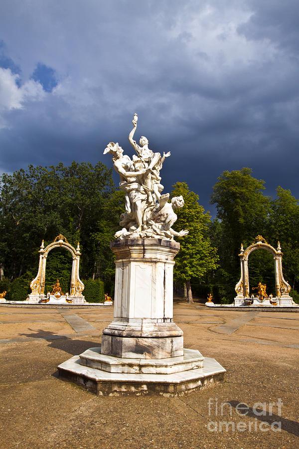 Statue Photograph - Eternal Hermes - La Granja Gardens by Scotts Scapes