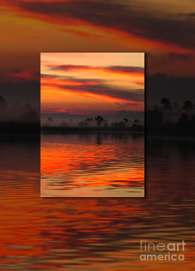 Sunrise Photograph - Ethereal Sunrise In Sunrise by Judee Stalmack