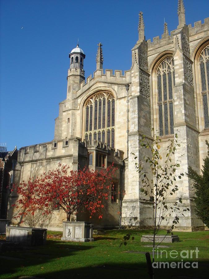 Travel Photograph - Eton College Chapel by Erin Sloneker