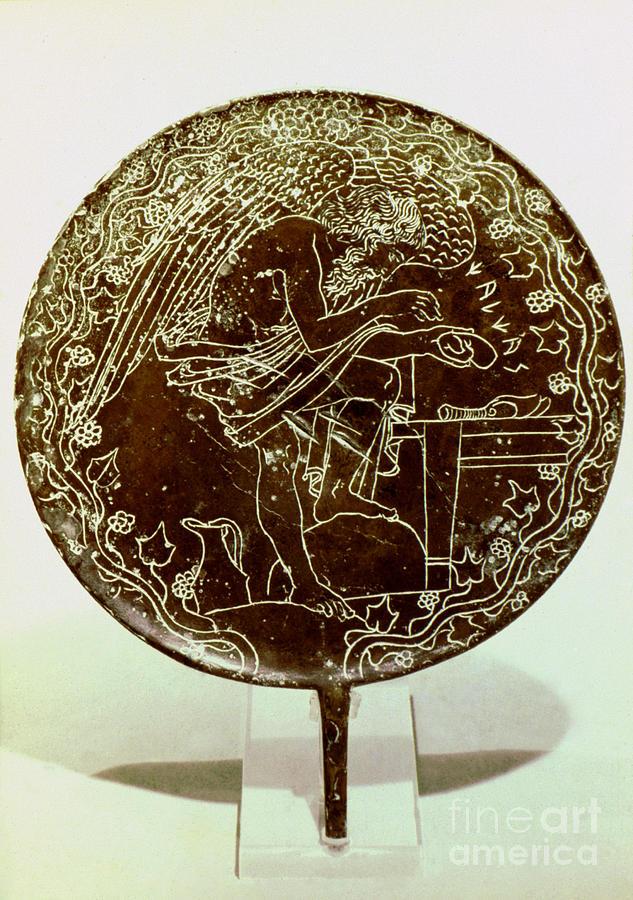 Etruscan Art Mirror Photograph By Granger